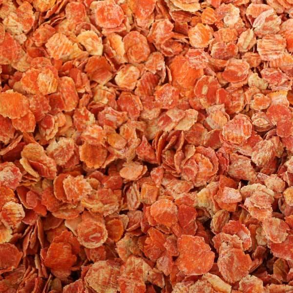 Karottenflocken