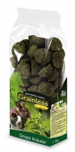 JR Farm Grainless Drops Kräuter mit Verpackung