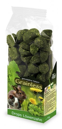 JR Farm Grianless Drops Löwenzah mit Verpackung