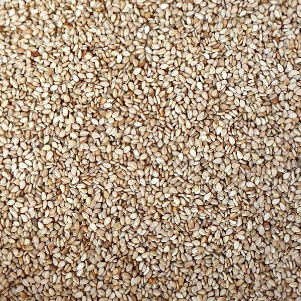 Sesamsamen ohne Verpackung