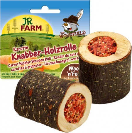 JR Farm Knapper-Holzrolle Karotte