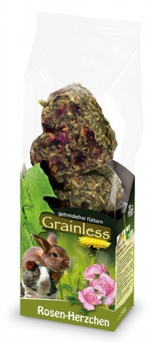 JR Farm Grainless Rosen-Herzchen mit Verpackung