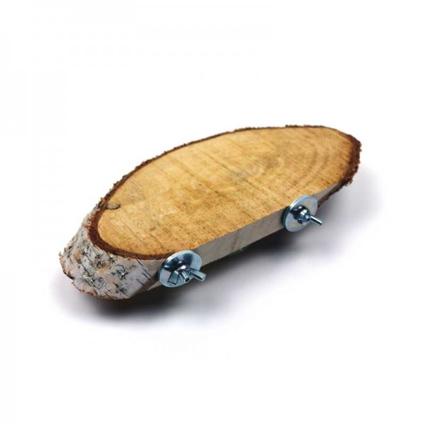 Sitzbrett Birke oval ca. 23-28cm