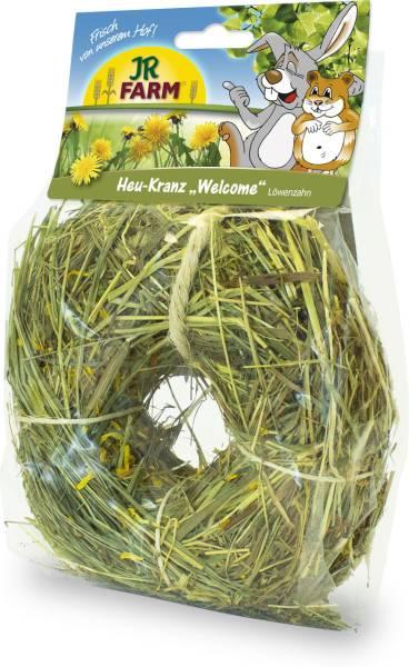 JR Farm Heu-Kranz Löwenzahn mit Verpackung