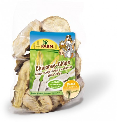 JR Farm Chicoree-Chips Verpackung